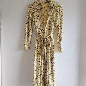 Vintage Diane Von Furstenberg Dress Set